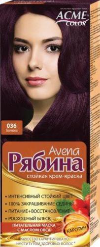 """Крем-фарба Acme Горобина Avena """"№036 Божоле"""""""