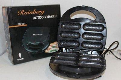 Гриль -тостер для сосисок Rainberg 1800 Вт