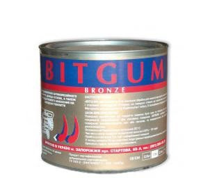 "Мастика резино-бутумная ""Bitgum"" бронза ж/б 3 кг (2.4 кг)"