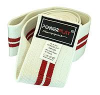 Бинты для колен PowerPlay из прочной резины для приседаний