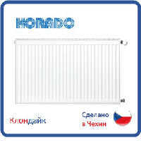 Стальной радиатор Korado тип 22 500*400 боковое подключение
