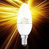 Светодиодная лампа OSRAM STAR B40 5.8W Е14 прозрачная