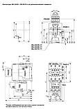 DL-K18 18,5KBт/36A,230В, контактор Ganz KK, фото 3