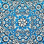 10757-3, павлопосадский платок хлопковый (батистовый) с подрубкой, фото 9