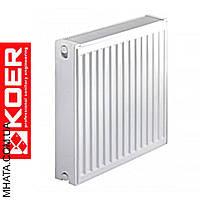 Стальные радиаторы Koer 22 тип 500*1300 Чехия (боковое подключение)