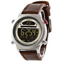 AMST 3017 Silver-White Brown Wristband