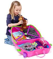 Детский дорожный чемоданчик TRUNKI TRIXIE, фото 3