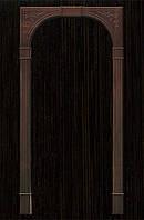 Арка Новый Стиль Люкс венге new ПВХ Deluxe ( шир. от 670мм до 1270мм, толщ. 200мм, высота до 2400мм)