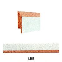 Планка пробковая переходная LBB