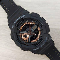 Casio G-Shock GA-110 Black-Cuprum