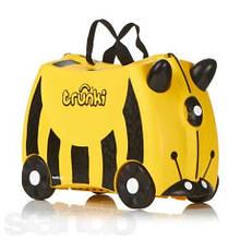 Дитячий дорожній валізку TRUNKI BEE BERNARD