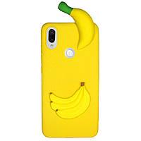 Чехол Cartoon 3D Case для Xiaomi Redmi Note 7 / Note 7 Pro Бананы
