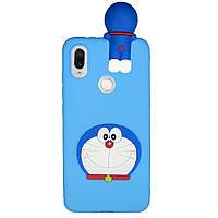 Чехол Cartoon 3D Case для Xiaomi Redmi Note 7 / Note 7 Pro Кот