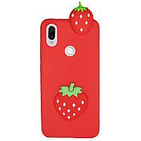 Чехол Cartoon 3D Case для Xiaomi Redmi Note 7 / Note 7 Pro Клубничка