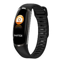 Фитнес-браслет R16 Black/Gold тонометр, пульсометр, шагомер,калории, для iPhone и Android, фото 3
