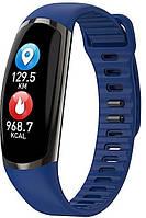 Фитнес-браслет R16 Black/Gold тонометр, пульсометр, шагомер,калории, для iPhone и Android, фото 5