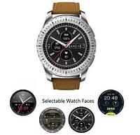 Умные часы Smart Watch KingWear KW28 Silver/Brown Bluetooth 4.0 350 мАч, фото 2