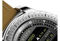 Умные часы Smart Watch KingWear KW28 Silver/Brown Bluetooth 4.0 350 мАч, фото 3
