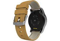 Умные часы Smart Watch KingWear KW28 Silver/Brown Bluetooth 4.0 350 мАч, фото 5