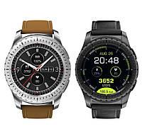 Умные часы Smart Watch KingWear KW28 Silver/Brown Bluetooth 4.0 350 мАч, фото 6