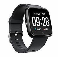 Фитнес-браслет Colmi Y7 Black тонометр, пульсометр, шагомер,калории, для iPhone и Android, фото 2