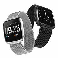 Фитнес-браслет Colmi Y7 Black тонометр, пульсометр, шагомер,калории, для iPhone и Android, фото 4