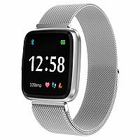 Фитнес-браслет Colmi Y7 Black тонометр, пульсометр, шагомер,калории, для iPhone и Android, фото 8