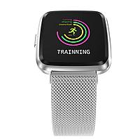 Фитнес-браслет Colmi Y7 Steel Black тонометр, пульсометр, шагомер,калории, для iPhone и Android, фото 5