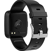 Фитнес-браслет Colmi Y7 Steel Black тонометр, пульсометр, шагомер,калории, для iPhone и Android, фото 8