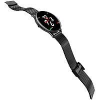 Фитнес-браслет VK6 SN58 Steel Black тонометр, пульсометр, шагомер,калории, для iPhone и Android, фото 3