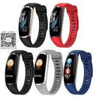 Фитнес-браслет R16 Black тонометр, пульсометр, шагомер,калории, для iPhone и Android, фото 2
