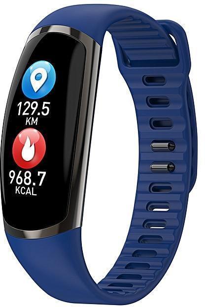 Фитнес-браслет R16 Blue тонометр, пульсометр, шагомер,калории, для iPhone и Android
