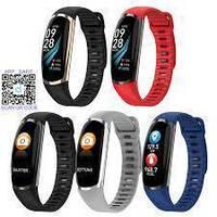 Фитнес-браслет R16 Blue тонометр, пульсометр, шагомер,калории, для iPhone и Android, фото 2