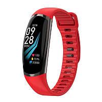 Фитнес-браслет R16 Blue тонометр, пульсометр, шагомер,калории, для iPhone и Android, фото 6
