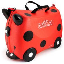 Дитячий дорожній валізку TRUNKI LADYBUG HARLEY