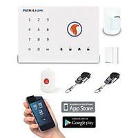 GSM сигнализация для дома, гаража, дачи Patrol Hawk G2
