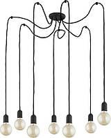 Люстра подвесная TK Lighting 2363 QUALLE BLACK