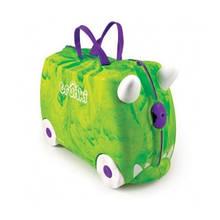Дитячий дорожній валізку TRUNKI REX DINOSAUR