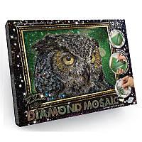 """Набор для творчества """"Diamond Mosaic"""" Филин А4 формат, фото 1"""