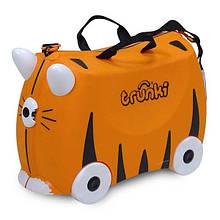 Дитячий дорожній валізку TRUNKI TIGER TIPU