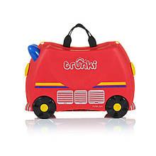 Дитячий дорожній валізку TRUNKI FIRE ENGINE FIRE ENGINE