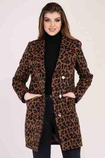Стильная леопардовая куртка Shotelli Animals