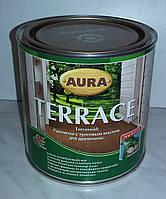 Пропитка с тунговым маслом для древесины Terrase Aura 0,9 л
