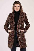 Модный длинный леопардовый пиджак Shotelli Animals