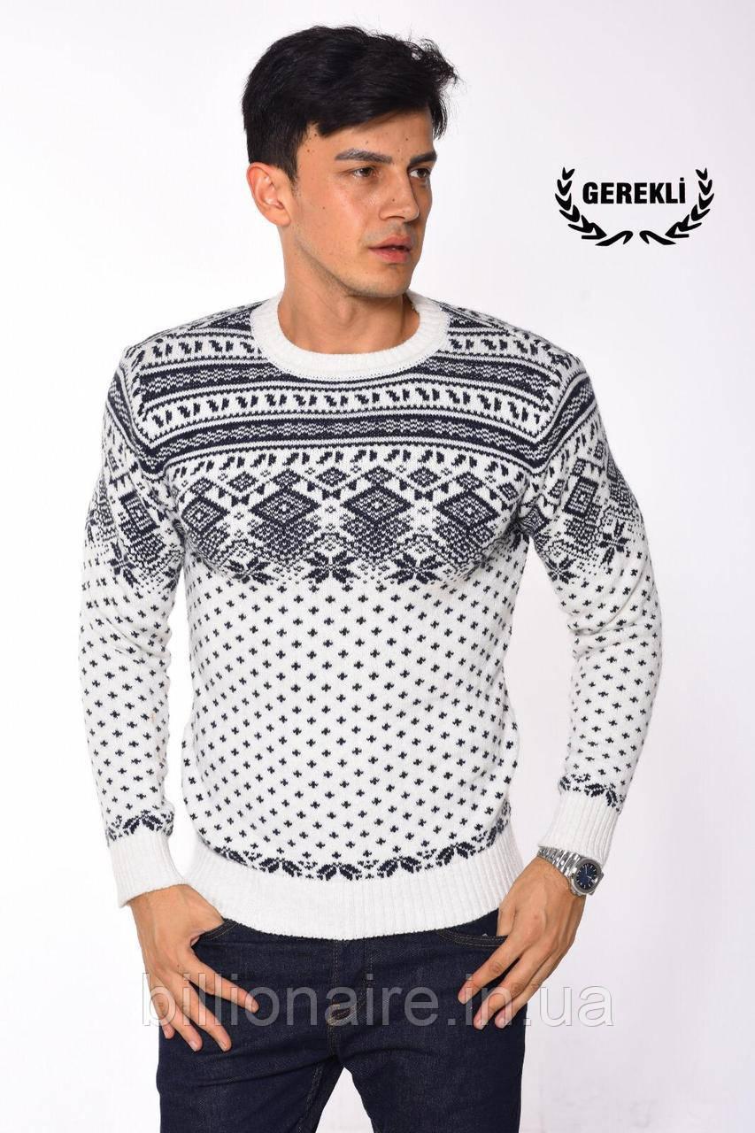 Новорічний светр ромби