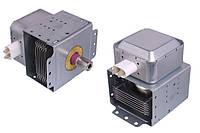 Магнетрон микроволновой печи LG 2M214 подключение 180°  (80х80)