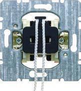 Выключатель/переключатель со шнурковым приводом (механизм) 10АХ/250В Berker