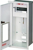 Шкаф распределительный метал. встраиваемый 3-ф. счетчик 12 модулей с окном и замком (Karwasz), Польша
