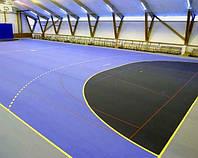 Tarkett Omnisports V35 BLACK спортивный линолеум , фото 1