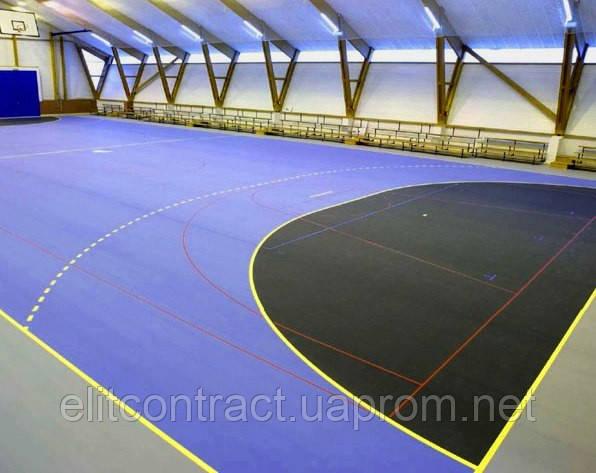 Tarkett Omnisports Speed BLACK спортивный линолеум